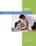 Hướng dẫn viết đề tài kiểm toán  2012