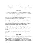 Quyết định số 148/QĐ-BTC
