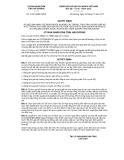 Quyết định số 01/2013/QĐ-UBND