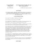 Quyết định số  263/QĐ-UBND