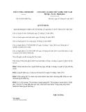 Quyết định số 01/2013/QĐ-TTg