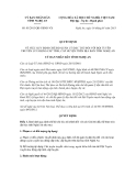 Quyết định số  03/2013/QĐ-UBND-VX