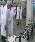 Báo cáo nhóm : Quy trình sản xuất sữa tiệt trùng - ĐH Lạc Hồng