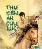 Ebook Thư Kiếm Ân Cừu Lục - Kim Dung