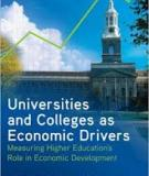 THE ROLE OF HIGHER EDUCATION TO ECONOMIC DEVELOPMENT