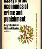 Essays in the Economics of Crime and Punishment