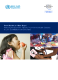 "From Burden to ""Best Buys"":   Reducing the Economic Impact of Non-Communicable Diseases   in Low- and Middle-Income Countries"