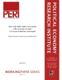 Does High Public Debt Consistently Stife Economic Growth? A Critique of Reinhart and Rogoff