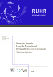 Economic Impacts from the Promotion of Renewable Energy Technologies