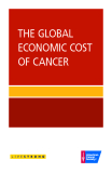 THE GLOBAL ECONOMIC COST OF CANCER