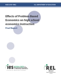 Effects of Problem Based  Economics on high school  economics instruction