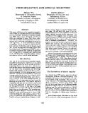 "Báo cáo khoa học: ""VERB SEMANTICS AND LEXICAL SELECTION"""