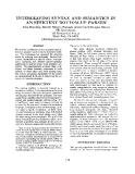 "Báo cáo khoa học: ""INTERLEAVING SYNTAX AND SEMANTICS AN EFFICIENT BOTTOM-UP PARSER*"""