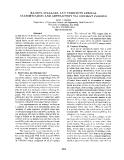 "Báo cáo khoa học: ""RAISINS, CLASSIFICATION CURRANTS: VIA LEXICAL CONTEXT PRIMING ABSTRACTION"""