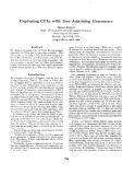 "Báo cáo khoa học: ""Capturing CFLs with Tree Adjoining Grammars"""