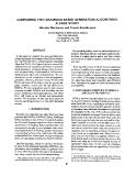 "Báo cáo khoa học: ""COMPARING TWO GRAMMAR-BASED GENERATION ALGORITHMS: A CASE STUDY"""