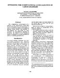 "Báo cáo khoa học: ""OPTIMIZING THE COMPUTATION ALL EXICALIZATION OF LARGE GRAMMARS"""