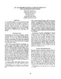 """Báo cáo khoa học: """"AN ALGORITHM FOR PLAN RECOGNITION COLLABORATIVE DISCOURSE*"""""""
