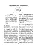 "Báo cáo khoa học: ""Morphological Cues for Lexical Semantics"""