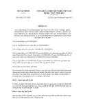 Thông tư số 03/2013/TT-BTC