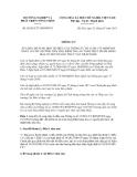 Thông tư số 05/2013/TT-BNNPTNT