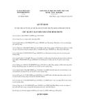 Quyết định 98/QĐ-UBND