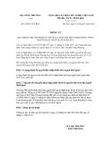 Thông tư số 02/2013/TT-BCT