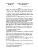 Thông tư số 01/2013/TT-BNNPTNT