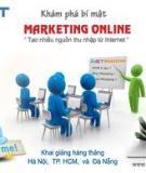 Một số loại hình bắt đầu cho marketing online