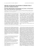 Báo cáo khoa học: Molecular and functional characterization of adenylate kinase 2 gene from Leishmania donovani
