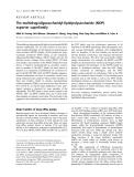 Báo cáo khoa học: The multidrug/oligosaccharidyl-lipid/polysaccharide (MOP) exporter superfamily