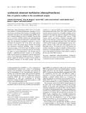 Báo cáo khoa học: Leishmania donovani methionine adenosyltransferase Role of cysteine residues in the recombinant enzyme