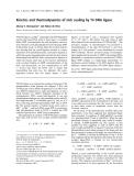 Báo cáo khoa học: Kinetics and thermodynamics of nick sealing by T4 DNA ligase
