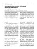 Báo cáo khoa học: Surface polysaccharide involvement in establishing the rhizobium–legume symbiosis