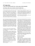 Báo cáo khoa học:  ATP N-glycosidase A novel ATP-converting activity from a marine sponge Axinella polypoides