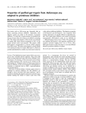 Báo cáo khoa học:  Properties of purified gut trypsin from Helicoverpa zea, adapted to proteinase inhibitors