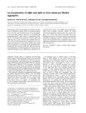 Báo cáo khoa học:  Co-incorporation of Ab40 and Ab42 to form mixed pre-fibrillar aggregates