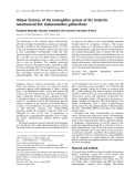 Báo cáo khoa học: Unique features of the hemoglobin system of the Antarctic notothenioid fish Gobionotothen gibberifrons