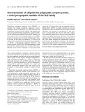Báo cáo khoa học: Characterization of ubiquitin-like polypeptide acceptor protein, a novel pro-apoptotic member of the Bcl2 family