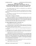 THÔNG TƯ LIÊN TỊCH BỘ KHOA HỌC CÔNG NGHỆ VÀ MÔI TRƯỜNG - BỘ Y TẾ  SỐ 2237/1999/TTLT/BKHCNMT-BYT