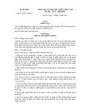 LUẬT KHIẾU NẠI -  Luật số: 02/2011/QH13