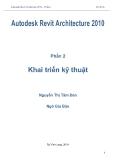 Autodesk Revit Architecture 2010-Phần 2