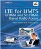 Lte For Umte Ofdma And Scfdma Based Radio Access