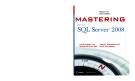 Mastering Microsoft SQL Server 2008