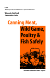 CANNING MEAT, WILD GAME, POULTRY & FISH SAFELY