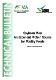 Soybean Meal An Excellent Protein Source  for Poultry Feeds