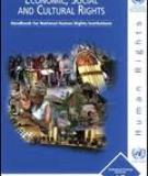 Economic, Social and Cultural Rights - Handbook for National Human Rights Institutions