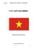Giáo trình Pháp luật đại cương - Phạm Thị Thu Thanh