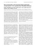 Báo cáo Y học: Role of electrostatics in the interaction between plastocyanin and photosystem I of the cyanobacterium Phormidium laminosum