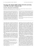 Báo cáo Y học: The group I-like ribozyme DiGIR1 mediates alternative processing of pre-rRNA transcripts in Didymium iridis